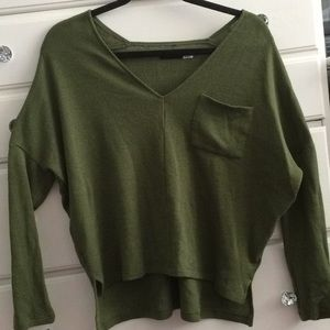 Urban outfitters BDG olive light sweater top